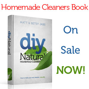 Join the Sustainablility Revolution! Homemade Cleaners Book