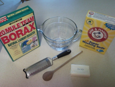 Homemade laundry soap natural and effective cooking with rita