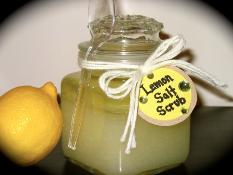 Lemon Salt Body Scrub