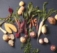 Eating Root Vegetables