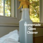 Homemade Glass Cleaner and Spring Cleaning Tips
