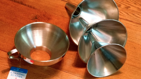 Amish made funnels