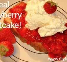 A Delicious and Healthier Strawberry Shortcake Recipe