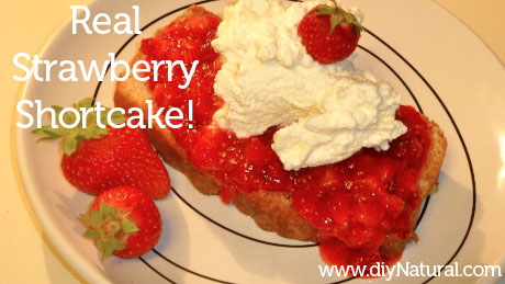 Strawberry Shortcake Recipe 3