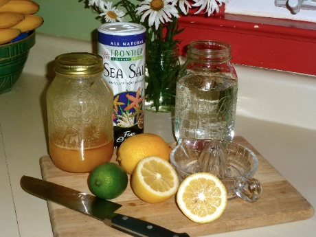 Homemade Sports Drink 1