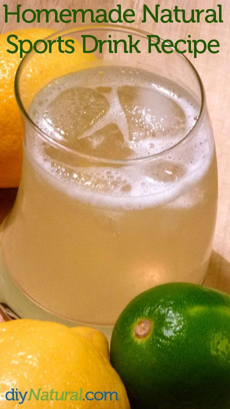 Homemade Sports Drink 2