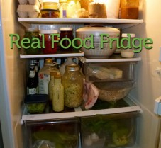 A Real Food Fridge