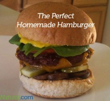 The Perfect Homemade Hamburger