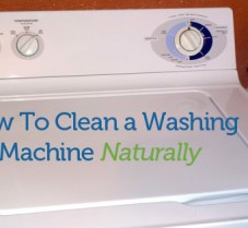 How to Clean Your Top Loading Washer Naturally