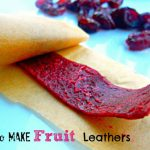 How to Make Fruit Leathers