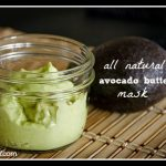 All Natural Avocado Butter Face Mask