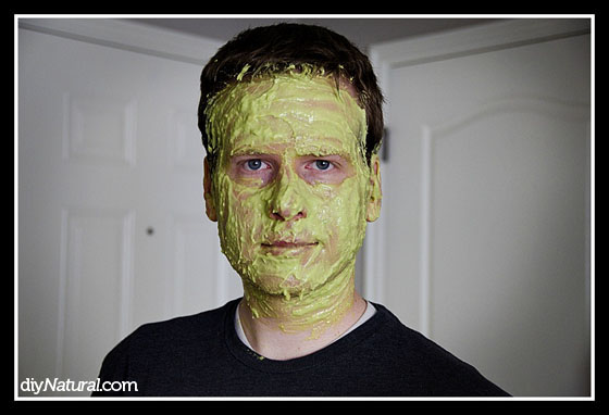 Avocado Face Mask 3