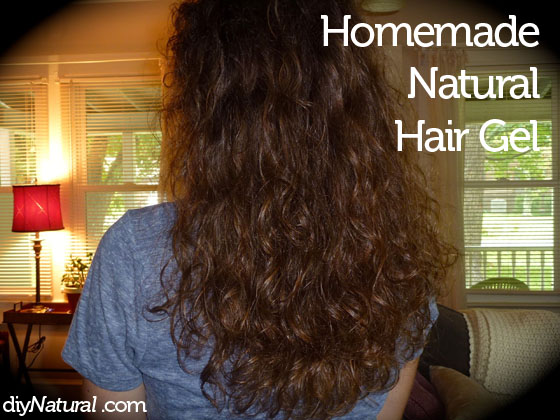 Homemade Natural Hair Gel