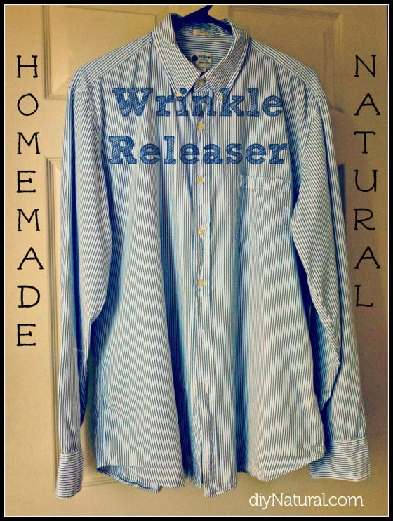 Wrinkle Release Vinegar Spray