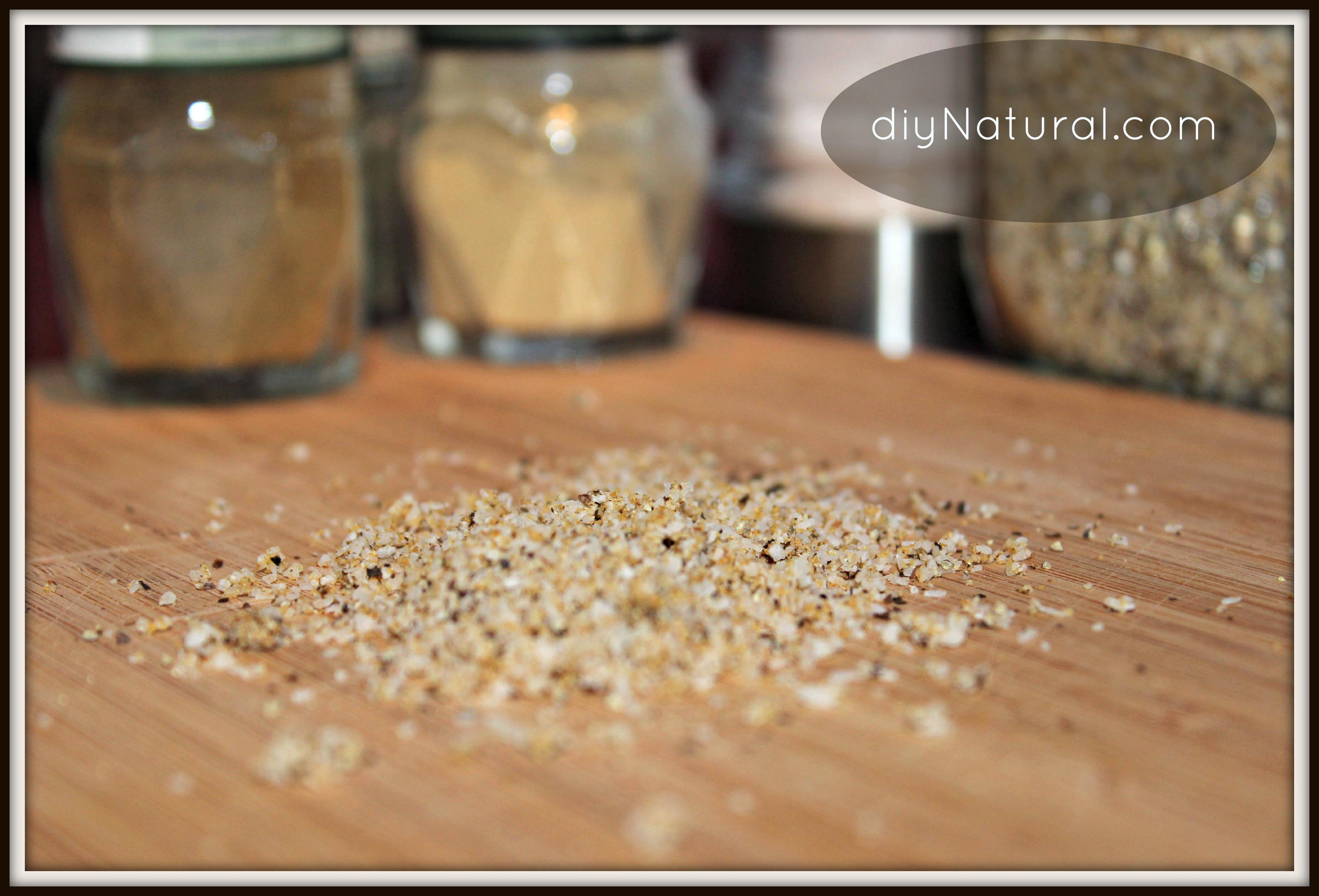 Homemade Seasoning Mix