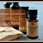 Mountain Rose Herbs Essential Oils Giveaway