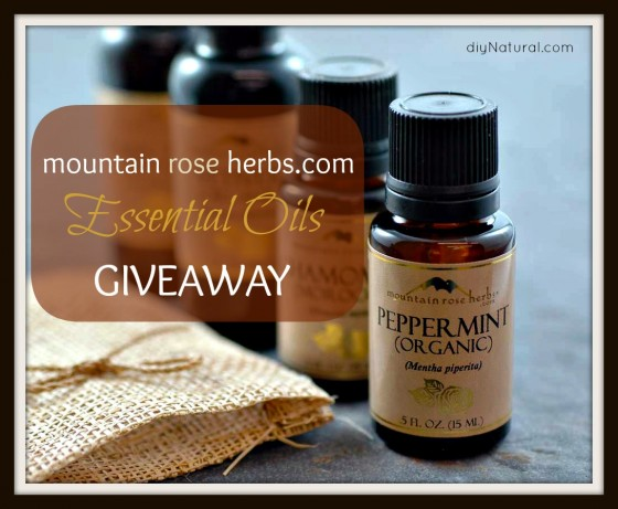 Mountain Rose Herbs Giveaway