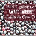 Giveaway: Award Winning Olive Oil