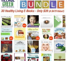 Spring Sale: 30 Healthy Living Ebooks for Only $39