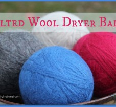 Learn How to Make Felted Wool Dryer Balls