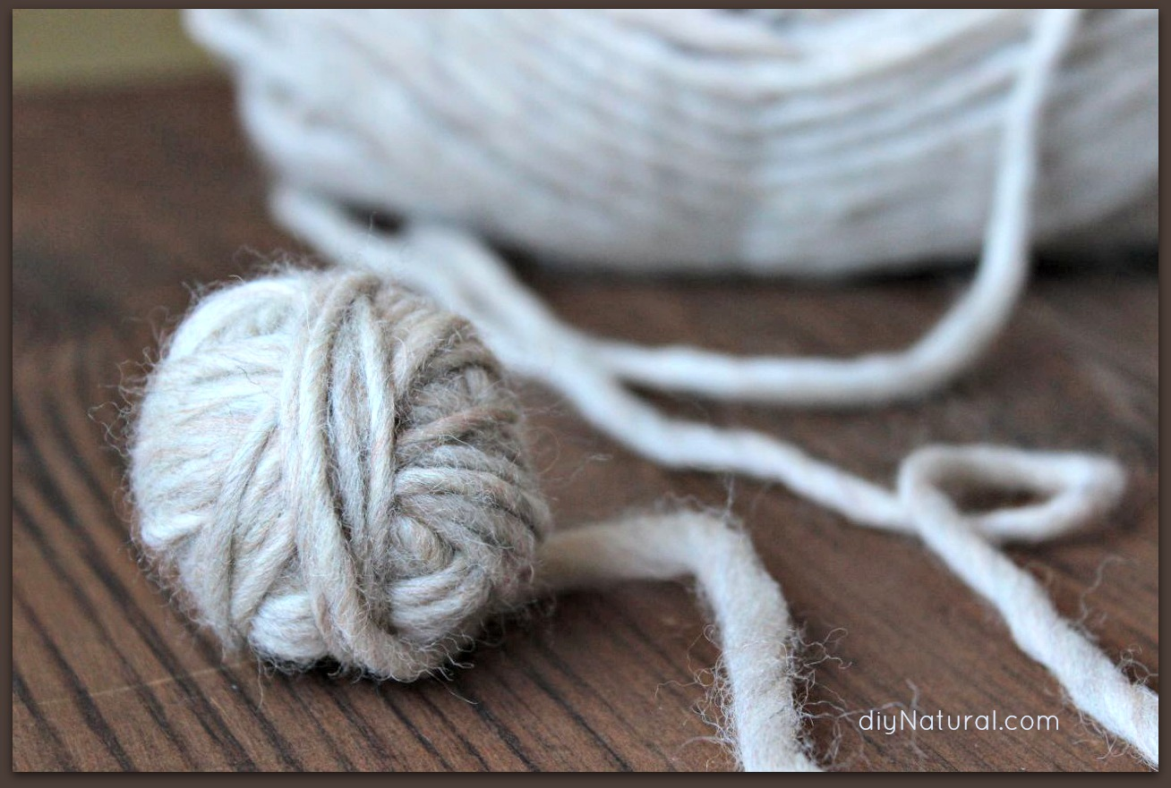 How to Make Wool Dryer Balls: Save Money and Control Static