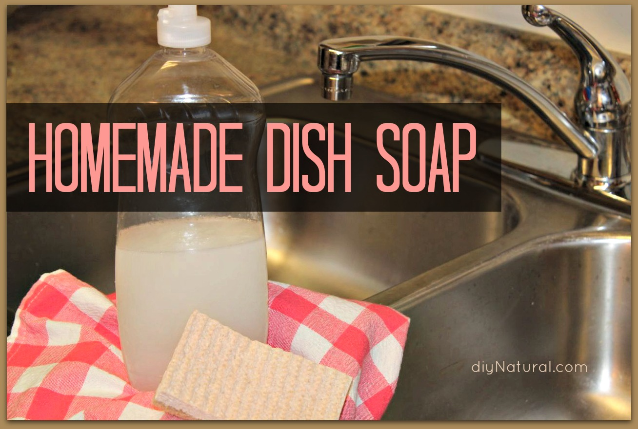 Homemade Dish Soap This Natural Diy Dish Soap Is Simple
