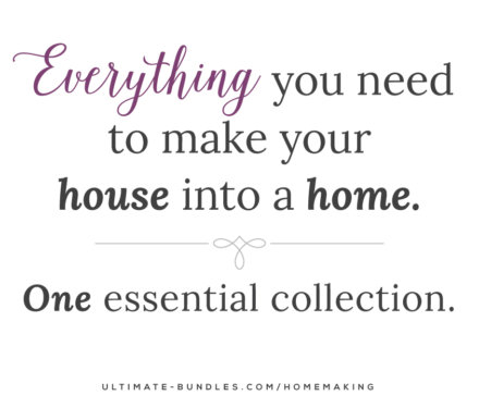 2015 Ultimate Homemaking Bundle