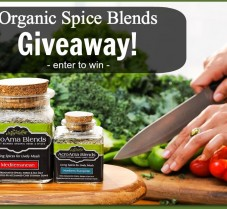 Giveaway: AcroAma Blends Organic Seasonings Sampler – $50 Value