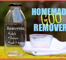 Homemade Natural Adhesive and Goo Remover