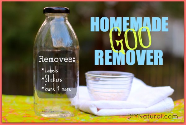 Adhesive Remover A Natural Homemade Goo Gone Reicpe That