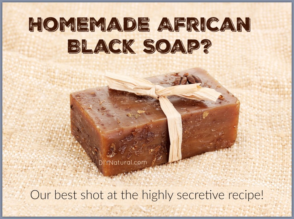 African Black Soap Benefits
