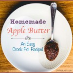 A Delicious Apple Butter Recipe for Your Crock Pot