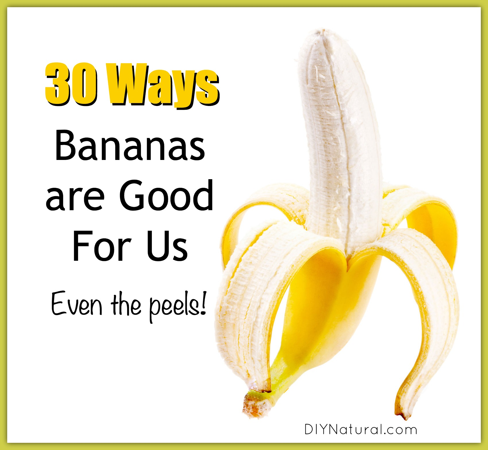 how good are bananas for you