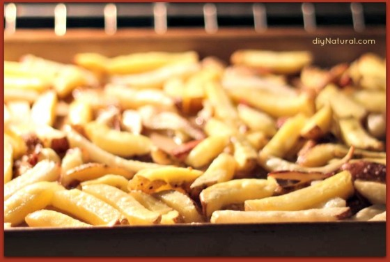 Baked French Fries 3