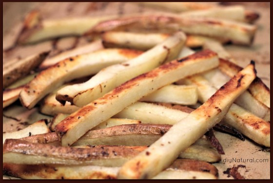 Baked French Fries 4