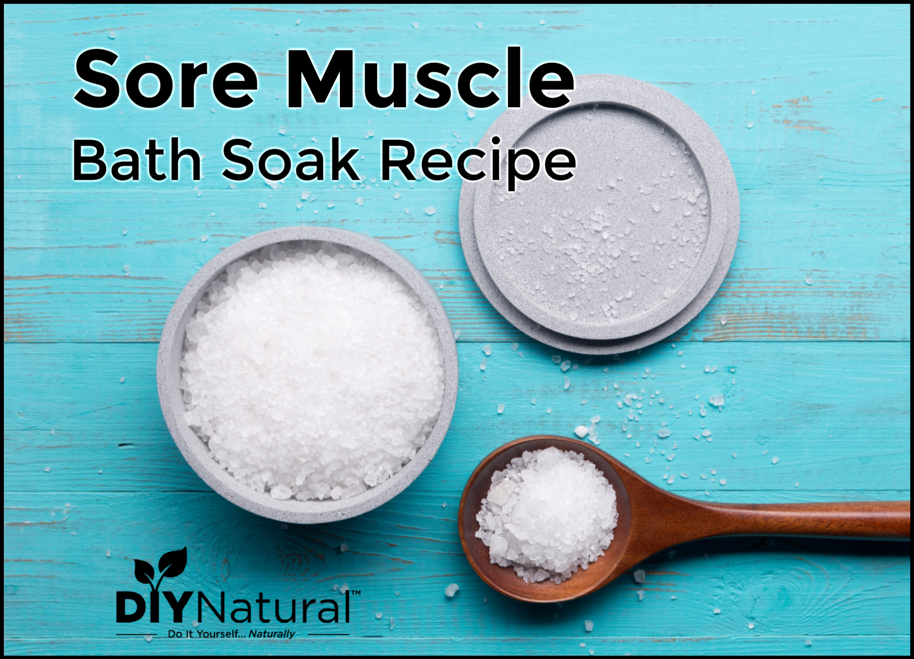 Bath For Sore Muscles: A Soak Recipe To