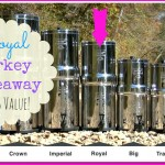 Giveaway: Royal Berkey Water Filter-$283 Value!