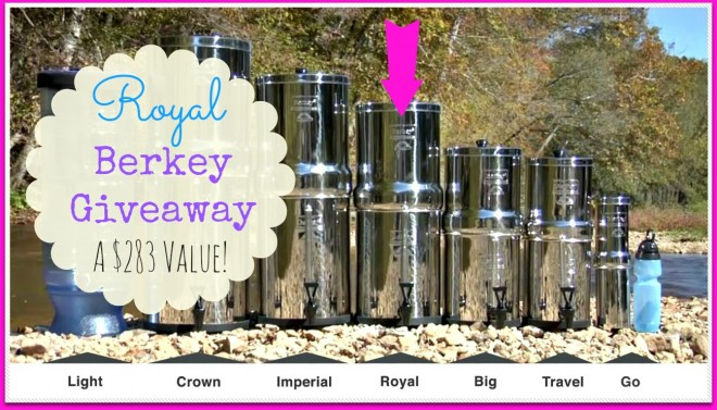 Berkey Water Filter Lineup