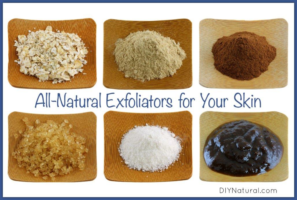 Natural facial exfoliant