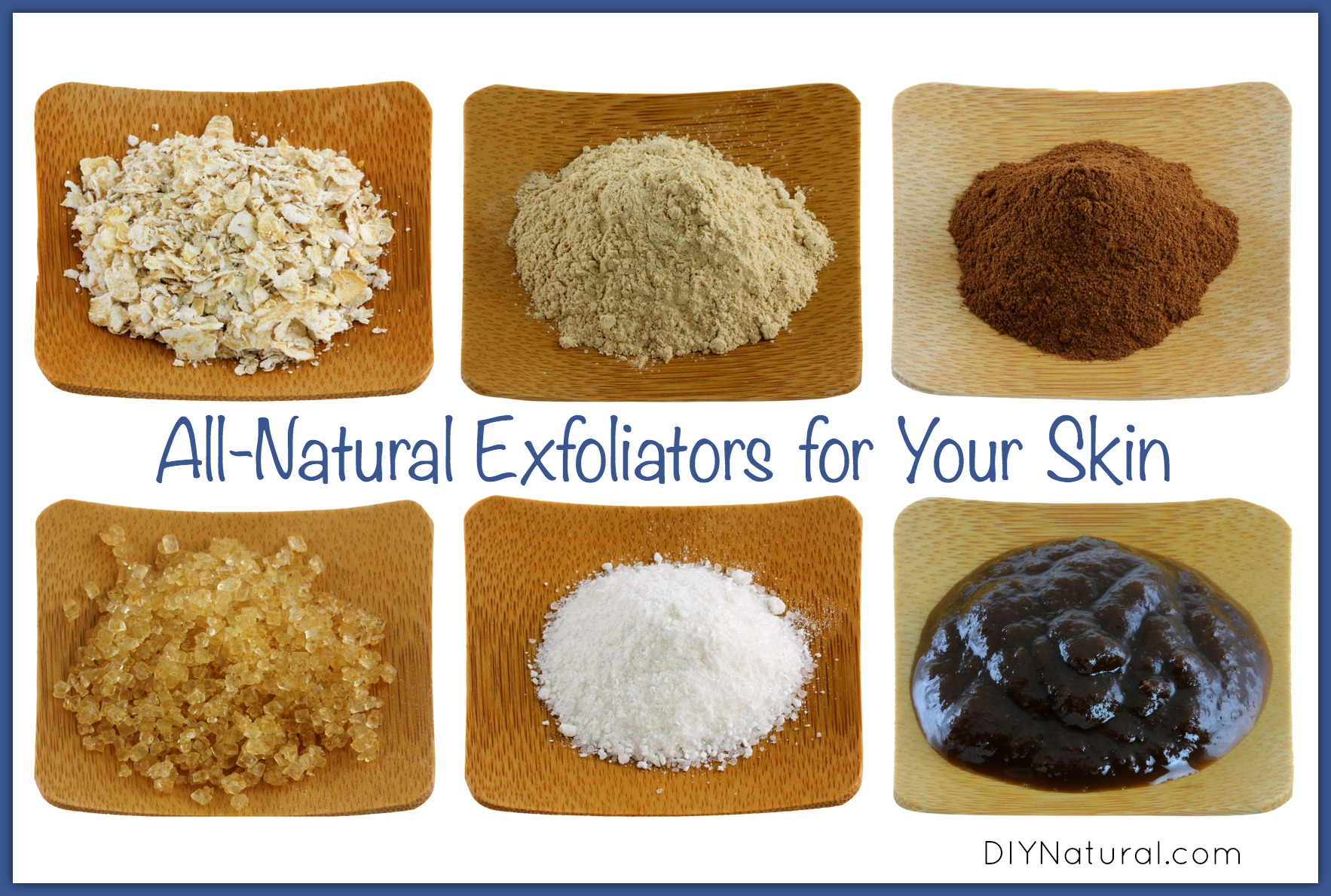 Natural facial exfoliant ingredients