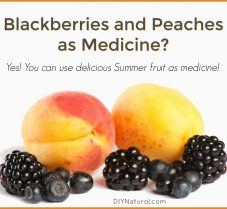 How to Use Summer Berries and Peaches as Medicine