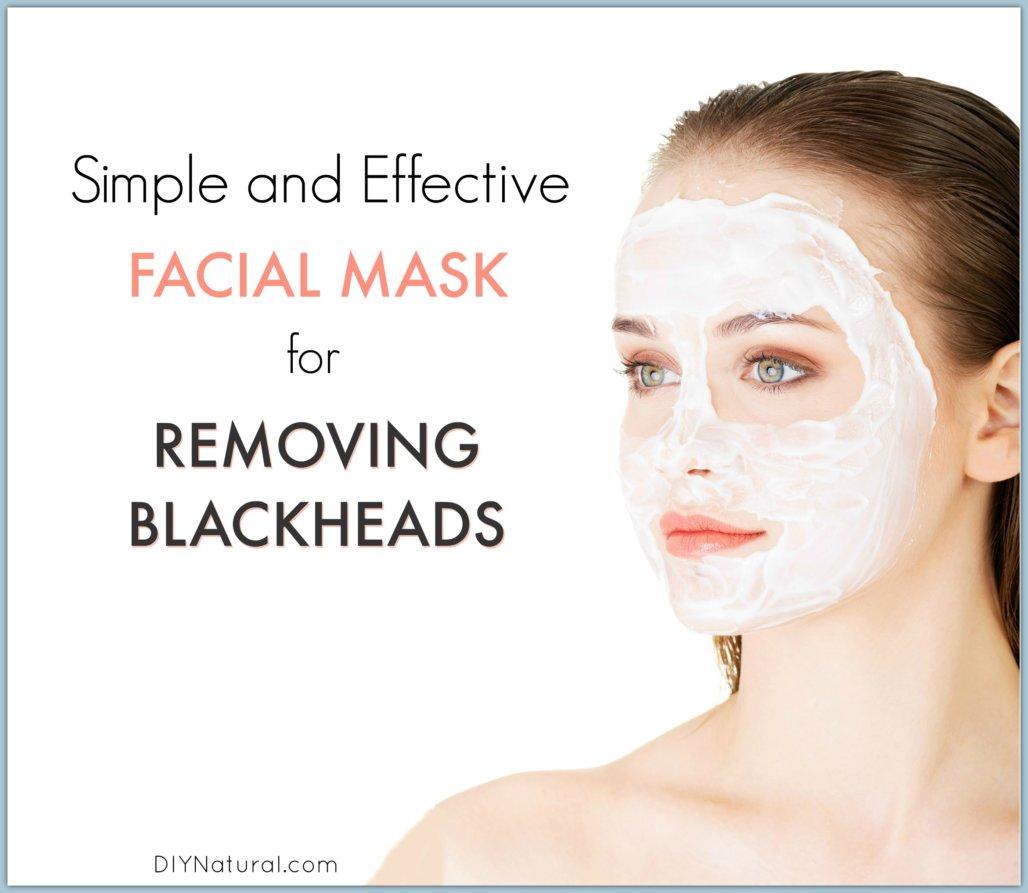 blackheads: a quick and easy homemade blackhead mask