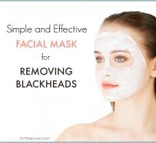 A Simple, Effective Blackhead Removing Facial Mask