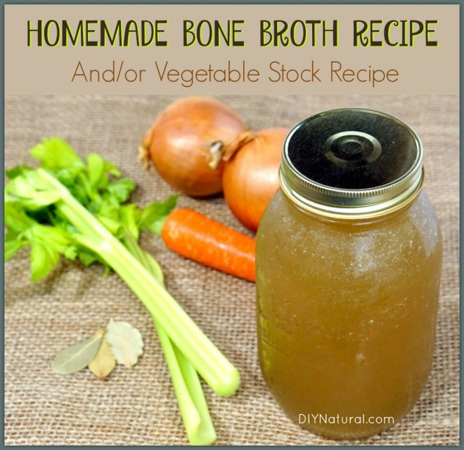 Bone Broth Recipe Vegetable Broth Recipe