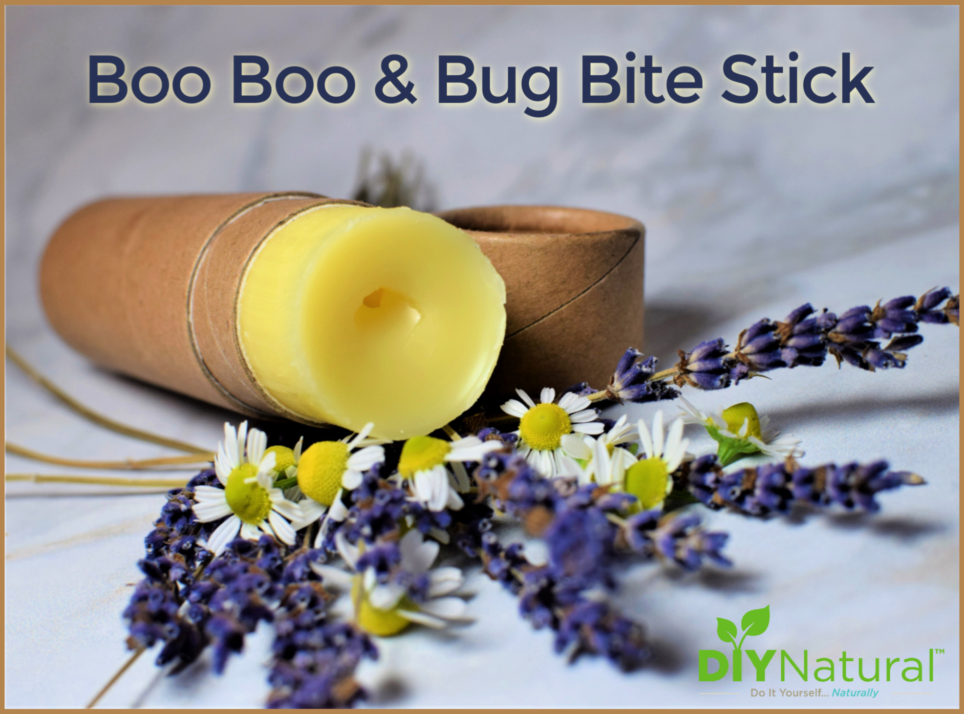A Soothing DIY Bug Bite and Boo Boo Stick Recipe