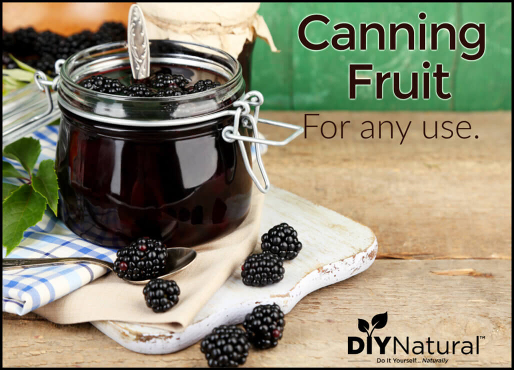 Canning Fruits