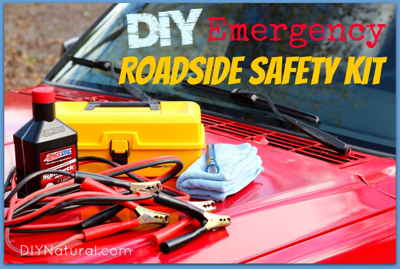 Car Emergency Kit Make Your Own Roadside Safety Pack