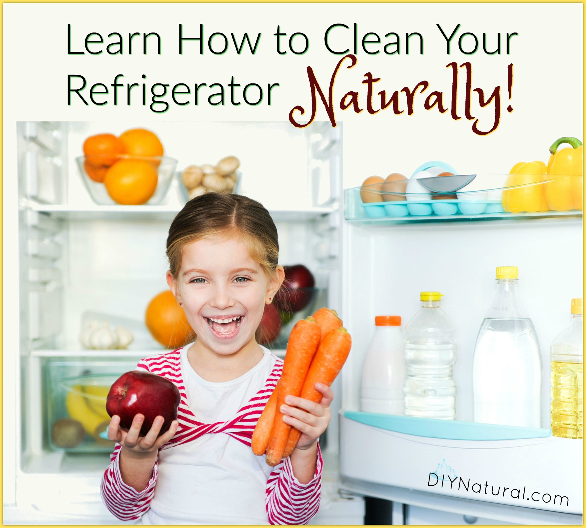 clean refrigerator learn how to clean your refrigerator naturally. Black Bedroom Furniture Sets. Home Design Ideas
