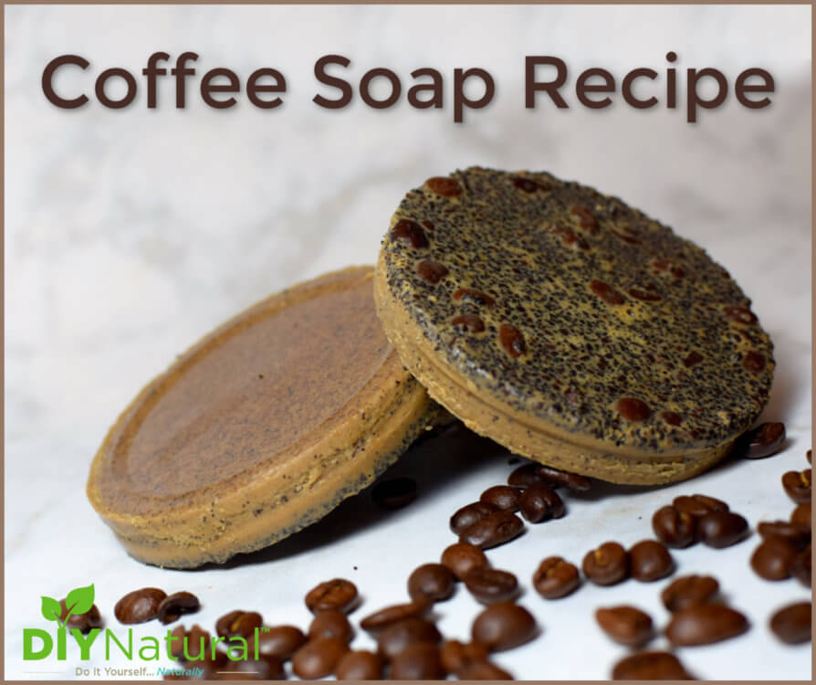 Coffee Ground Soap Recipe