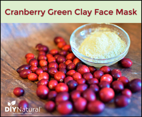 Cranberry Clay Face Mask